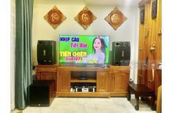 Dàn karaoke gia đình anh Tám tại TPHCM (BMB CSD2000SE, Famousound 7208, KX180, A120P, JBL VM300)