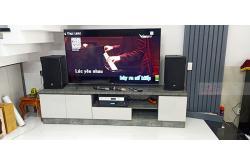 Dàn karaoke gia đình chị Nhung tại Quận 7 – TP HCM (RCF EMAX 3110, BKSound DP8000, ViệtKTV HD4TB...)