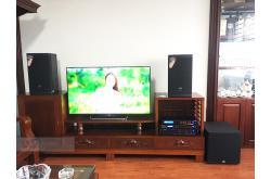Dàn karaoke gia đình chú Hùng tại Hà Nội (JBL MTS10, BIK VM420A, BIK BPR-8500, A120P, BIK BJ-U550)