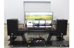 Lắp đặt dàn karaoke gia đình anh Cường tại Bắc Giang (Alto AT2000, DSP-9000, BIK VM620A, AAP K500)