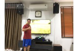Lắp đặt dàn karaoke gia đình anh Lâm tại Bắc Ninh (JBL MTS10, BIK VM620A, BCE DP9200+, Jamo J12, BCE UGX12)