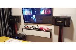 Lắp đặt dàn karaoke gia đình anh Vũ tại Quận 7 – TPHCM (BIK BJ-S768, BKSound DP6000, BW604)