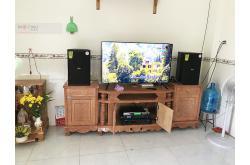 Lắp đặt dàn karaoke gia đình chị Hoa tại Biên Hòa (Domus DP6100, BIKVM620A, DSP-9000, U900 Plus New)