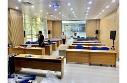 Lắp đặt hệ thống âm thanh hội trường, phòng họp, hội thảo cho Công ty CP B.O.O Nước Thủ Đức – TP HCM
