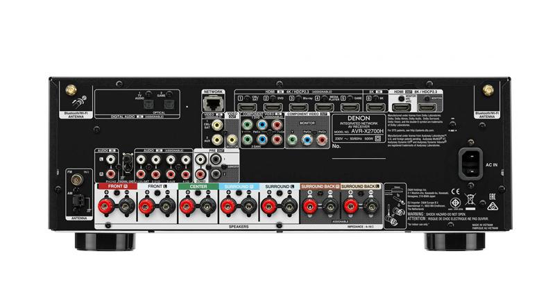 Amply Denon AVR-X2700H