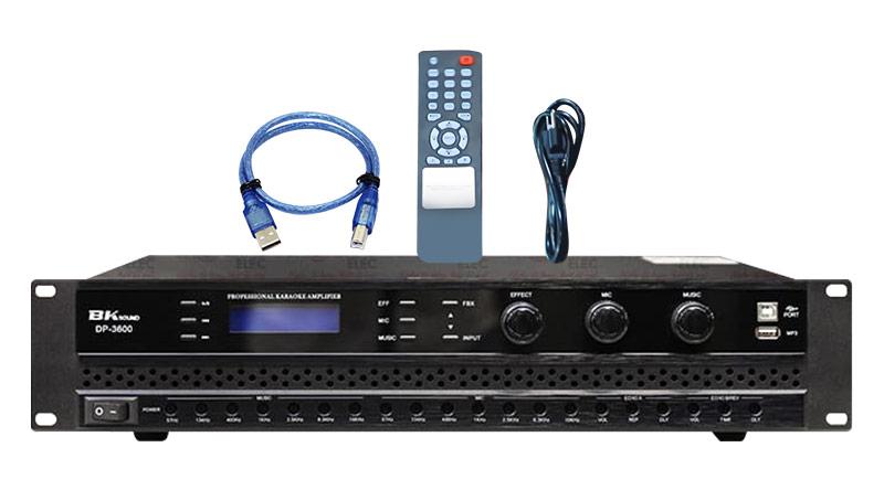Cục đẩy liền vang BKsound DP3600