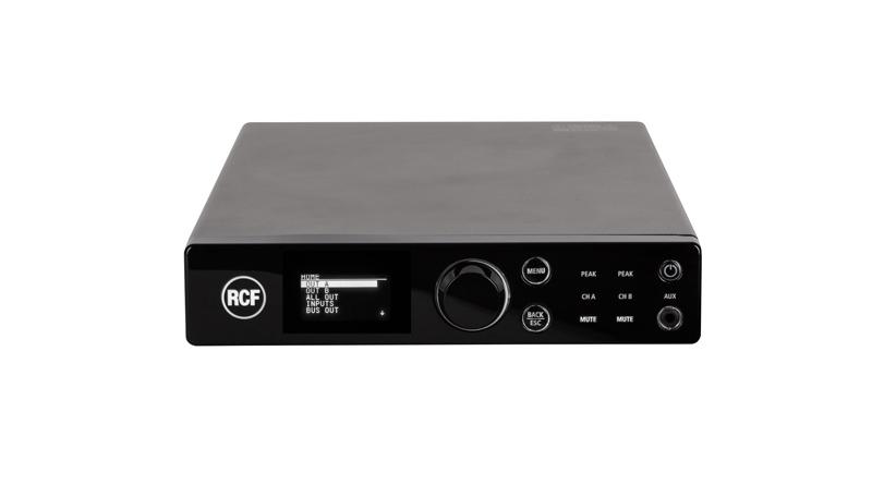 Hệ thống âm thanh nhạc nền RCF cao cấp cho shop, cửa hàng lớn