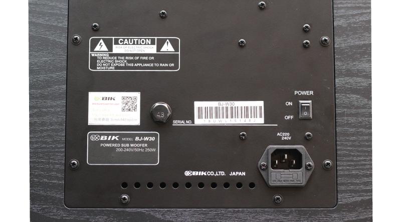 Loa sub BIK BJ-W30