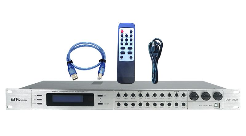 Vang số chỉnh cơ BKSound DSP-9000 (White)