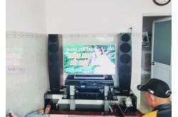 Dàn nghe nhạc, karaoke gia đình anh Hùng tại TP HCM (Jamo C97, Denon PMA-600NE, DSP9000, BCE U900)