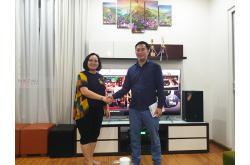 Dàn karaoke gia đình anh Cương tại Đà Nẵng (JBL MTS10, Crown Xli 2500, JBL KX180, R120SW, BCE UGX12)