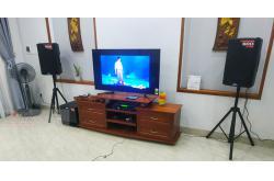 Dàn karaoke gia đình anh Đồng tại Đà Nẵng (Alto TX215, Alto TX212S, Listensound FX9-MKII, U900 Plus X)