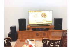 Dàn karaoke gia đình anh Duy tại Quảng Ngãi (JBL KP4012, Xli2500, KX180, JBL A120P, JBL VM300)