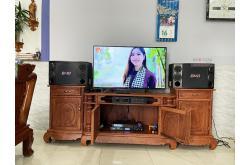Dàn karaoke gia đình anh Hải tại Đồng Nai (BMB CSD2000SE, BIK VM620A, Alto AK600, BIK BJ-U550)