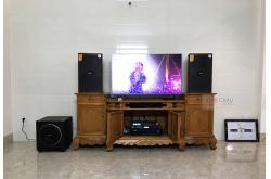 Dàn karaoke gia đình anh Hiệp tại Bình Dương (Domus DK612, BIK VM620A, Alto AK600, Sub1000, BJ-U550)