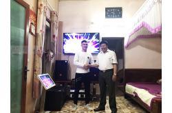 Dàn karaoke gia đình anh Hồ tại Bắc Giang (JBL CV1270, Famousound 7406, BIK BJ-W66, JBL KX180, JBL VM300)