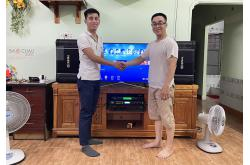 Dàn karaoke gia đình anh Hy tại Bình Dương (BIK BJ-S968, BIK VM620A, Alto AK600, BCE U900 Plus X)