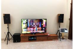 Dàn karaoke gia đình anh Khoa tại Thái Bình (Domus DK612, VM620A, KX180, SW-612B, VietK Plus 4T, BCE UGX12...)