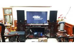 Dàn karaoke gia đình anh Thái tại Thanh Hóa (RCF EMAX 3112, BIK VM640A, BPR8500, BJ-W66PLUS, BJ-U550)