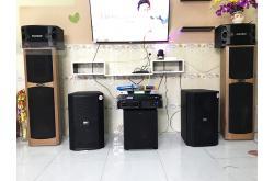Dàn karaoke gia đình anh Trung tại Đồng Nai (BIK BSP412, BIK VM620A, BPR8500, R120SW, BCE UGX12)