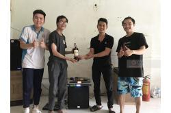 Dàn karaoke gia đình anh Tú tại Q.Bình Chánh - TP HCM (Alto TX215, BKSound AK600, SW512B, BBS B900)