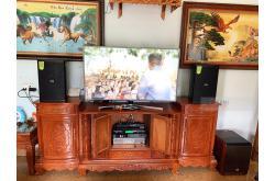 Dàn karaoke gia đình chị Thưởng tại Thanh Hóa (Domus DP6100, SAE TX1200, FX9-MKII, BW604, BCE U900...)
