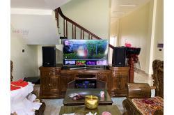 Lắp đặt dàn karaoke gia đình chị Vui tại Hải Dương (RCF CMAX 4110, Xli2500, JBL KX180, Klipsch SPL120, VM300)