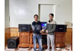 Dàn karaoke gia đình chú Tài tại Hải Dương (BIK BJ-S968, BIK VM620A, BKSound X5 Plus, Sub1000, U900Plus X)