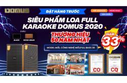 Đặt hàng trước – Rước quà to với siêu phẩm loa karaoke Domus DK612 hot nhất 2020