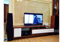Lắp đặt bộ dàn nghe nhạc của gia đình anh Nghĩa tại Hà Đông – HN (Jamo C97II, BIK BJ-A88)