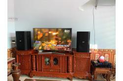 Lắp đặt dàn karaoke gia đình anh Cân tại Thanh Hóa (BIK BSP412, BIK VM420A, BIK BPR-8500, BJ-U100)