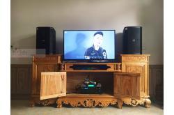 Lắp đặt dàn karaoke gia đình anh Cường tại Bắc Giang (BIK BSP 412, BIK VM620A, BIK BPR-8500,...)