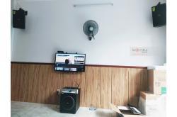 Lắp đặt dàn karaoke gia đình anh Hùng tại TP HCM (Domus DP6100, BKSound DKA 6500, Sub 1000New)