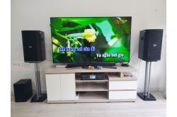 Lắp đặt dàn karaoke gia đình anh Huy tại Cần Thơ (BIK BSP 410, BKSound DKA 6500)