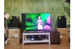 Lắp đặt dàn karaoke gia đình anh Khánh tại TP HCM (Domus DP6100, Lenovo K250, BW 604 8No)