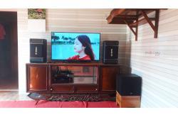 Lắp đặt dàn karaoke gia đình anh Khiên tại Hải Dương (BIK BJ-S768, BIK BJ-A88, NS-SW100, BIK BJ-U100)