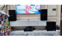 Lắp đặt dàn karaoke gia đình anh Nghị tại TP HCM (BIK BSP 412, Crown Xli2500, KX180, BIK BJ-W30..)