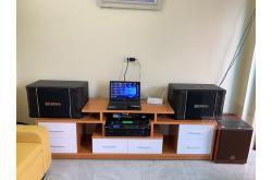 Lắp đặt dàn karaoke gia đình anh Quân tại Thanh Hóa (BIK BJ-S968, BIK VM420A, DSP-9000, BW604...)