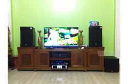 Lắp đặt dàn karaoke gia đình anh Thọ tại Bắc Giang (RCF EMAX 3112, Famousound 7208, JBL KX180, A120P...)