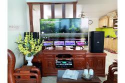 Lắp đặt dàn karaoke gia đình anh Toàn tại Hà Nội (BIK BSP 412, AAP TD8004, BKSound X5 Plus, TS315 SUB...)