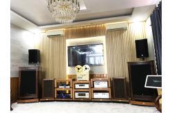 Lắp đặt dàn karaoke gia đình anh Trang tại Phú Yên (RCF CMAX 4112, Crown Xli3500, JBL KX180, A120P,...)