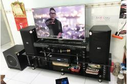 Lắp đặt dàn karaoke gia đình anh Tuấn tại Đồng Nai (BIK BSP 410, BKSound DP6000, Paramax Sub1000 New)
