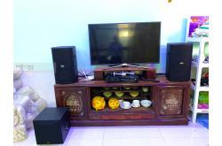 Lắp đặt dàn karaoke gia đình anh Tùng tại Thanh Hóa (BIK BSP 410, BKSound DP6000, Yamaha NS-SW100)