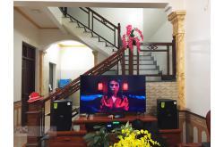 Lắp đặt dàn karaoke gia đình chị Gái tại Bắc Ninh (Domus DP6100, BIK VM420A, DSP-9000, U900 Plus X)