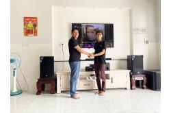 Lắp đặt dàn karaoke gia đình chị Ngọc tại Đồng Nai (RCF EMAX 3112, BIK VM820A, BIK BPR-6000,...)