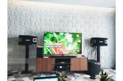 Lắp đặt dàn karaoke gia đình chị Nhung tại TP HCM (BMB CSV 900SE, BIK VM620A, AAP K9800, TS312SUB...)