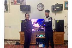 Lắp đặt dàn karaoke gia đình chị Tỵ tại Hải Phòng (Domus DP6120, BMB CSD 800SE, TD8004, X6 Luxury,...)