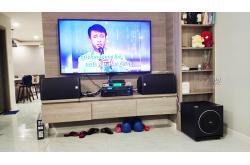Lắp đặt dàn karaoke gia đình chú Luân tại TP HCM (Alto AT1000, BIK VM420A, BKSound DSP-9000, Sub 1000New...)