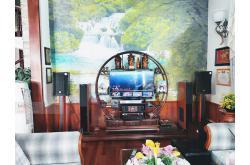 Lắp đặt, nâng cấp dàn karaoke gia đình chị Liên tại TP HCM (RCF CMAX 4110, JBL A120P,...)