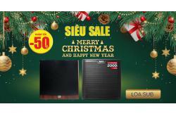 Loa sub giá siêu tốt, giảm hoảng hốt tới 50% dịp Noel